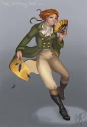 The Fabulous Penny Blackfeather by amari