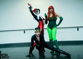 DC - Gotham City Sirens pt 2 by AnaGraceCosplay