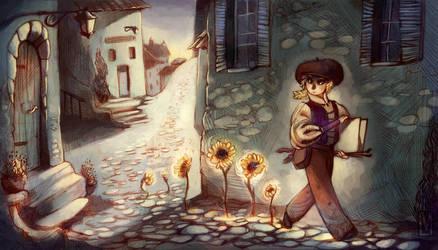 Twilight in Provence... by AmandaMullins