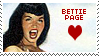 Bettie Page Stamp 7 by karastamps