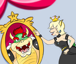 Bowsette by belugatoons