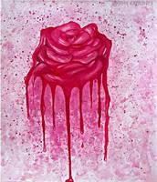 Bleeding Rose by Kaitlin73
