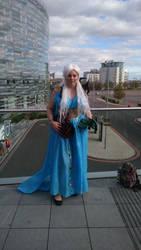 Khaleesi, Mother of Dragons by Black-Obsidian
