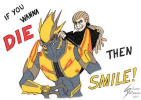 Smile and Die by Dragunalb
