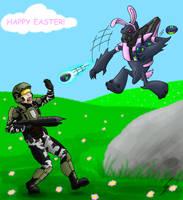Happy friggin Easter! by Dragunalb