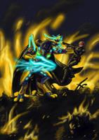 Down in Flames by Dragunalb