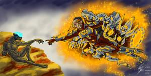The Creation of 'Mdama by Dragunalb