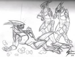 Drunk Elite sketch by Dragunalb