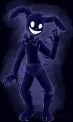 Shadow Bonnie (Five Nights at Freddy's) by ArtyJoyful