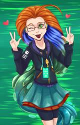 Cyber Pop Zoe (League of Legends) by ArtyJoyful