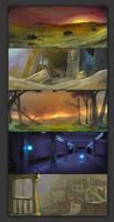 Landscape practice by Ronamis