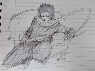BNHA - Eraserhead doodle by ABD-illustrates
