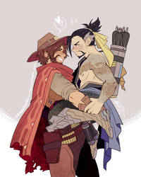 Overwatch - Mchanzo - Pick-me-up by ABD-illustrates