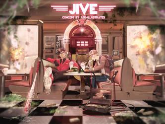 ''JIVE'' - OC Concept Art by ABD-illustrates