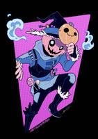 Scarecrow [SPEEDPAINT] by ABD-illustrates