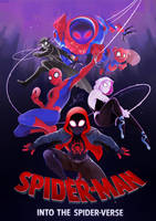 Into the Spider-Verse [SPEEDPAINT] by ABD-illustrates