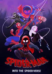 Into the Spider-Verse [SPEEDPAINT] by ABD-illustrates