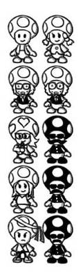 Original characters for future Paper Mario games by Ruyc