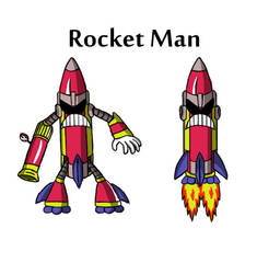 Rocket Man by Ruyc
