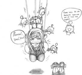 Reynn Ambushed! (World of Final Fantasy) by ShinDnC