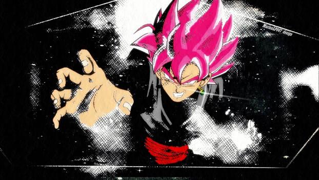 Goku black wallpaper HD by MarlonLP047