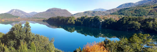 Panorama lago by maxiaringoli