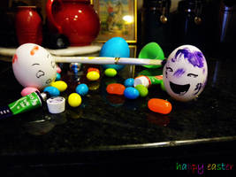 ZOMG EASTER EGGS? by anythingliketoday