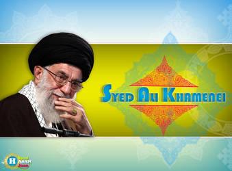 syed ali khamenei by Syed-Hasan-Jaan