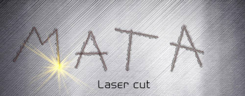 Laser cut letters by Player-Designer