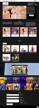 Casablanka dance studio web site by Player-Designer