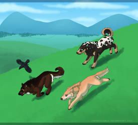 .:Adventure:. Run Like The Wind by Mangoswirls
