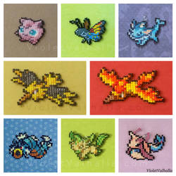 ALL 721+ Pokemon! - Bead Charms (Part 1) by VioletValhalla