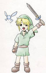 chibi link color by epshinigami