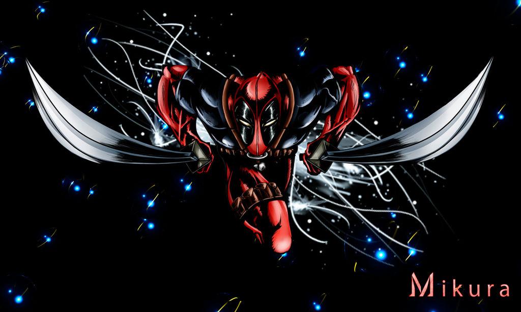 Deadpool Wallpaper By Nekomikura On Deviantart