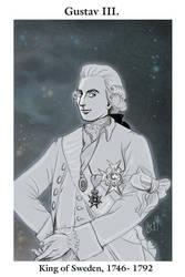 King Gustav III by RedPassion