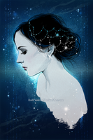 Eva - Deep Blue - for my dear Lordpendragonofcaria by RedPassion