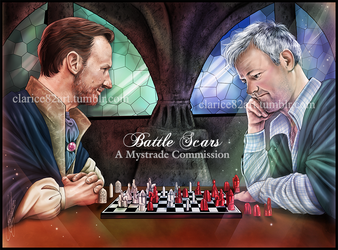 Mystrade Potterlock Commish by RedPassion