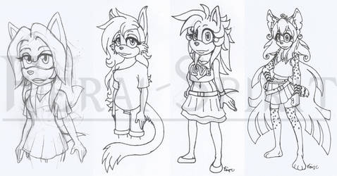 Color Me Adoptable Batch (OPEN) by Feral-Spirit