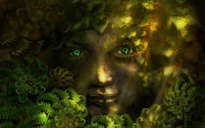 Forest spirit by Fedorworks