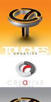 Creative touches logo by AnubisGraph