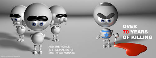 Thr 3 Monkys by AnubisGraph