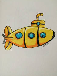 Yellow Submarine by EllowynGrace