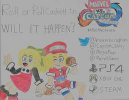 Roll/Roll Caskett for Marvel vs Capcom Infinite? by falconvillager