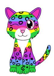 Dotty the Leopard by Kitsune257