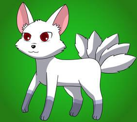 Yobi the Five Tailed Fox by Kitsune257