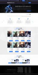 Website Design - MajorGame - SOLD by MorBarda
