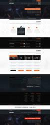 Website Design -  Hosting games - For Sale! by MorBarda