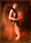 Angels fire by mendha
