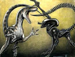 alien vs raptor AVR by VyToR