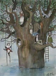 living tree by AnnWeaver